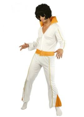 Disfraz barato de Rey del Rock de hombre Carnaval