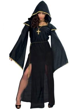 Disfraz de mujer de las Tinieblas para Halloween