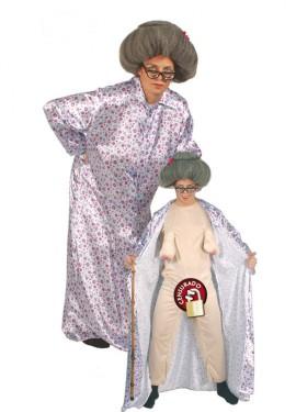 Disfraz de Abuela Sexy hombre