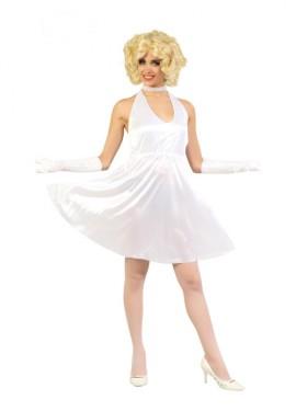 Disfraz o vestido de Marilyn para mujer