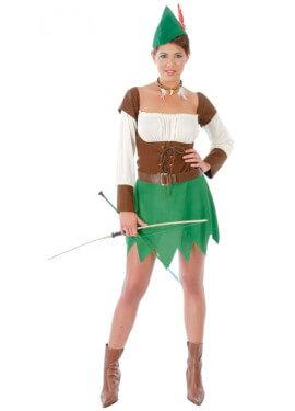 Disfraz Sexy de Robin mujer adulta