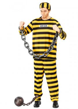 Disfraz barato de Prisionero hombre