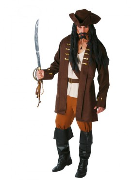 Disfraz de Pirata para hombre adulto