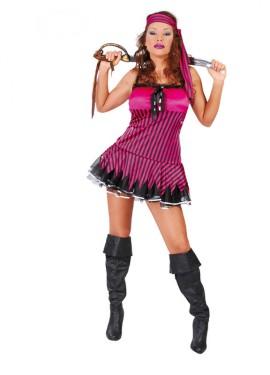 Disfraz de Pirata Sexy adulta para mujer