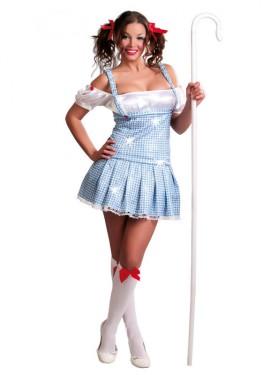 Disfraz de Chica Dorothy sexy para mujer