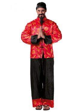 Déguisement Chinois Mandarin pour homme adulte