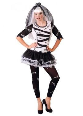 Disfraz de Monster Bride para mujeres