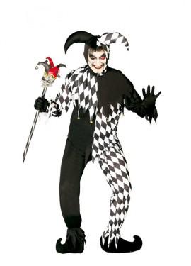 Disfraz de Black Joker para hombre
