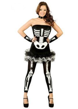 Disfraz de Skeleton Sexy para mujer talla 38/40