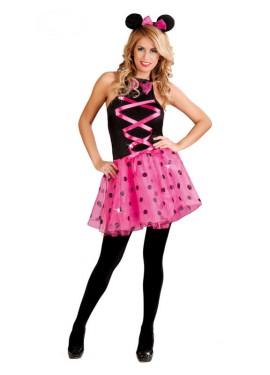 Disfraz para mujer de Ratoncita rosa sexy talla 38/40