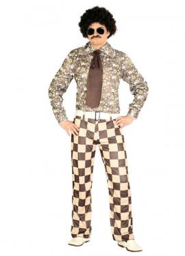 Disfraz para hombre de Brady de la Disco