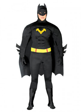 Disfraz de Hombre Murciélago negro para hombres
