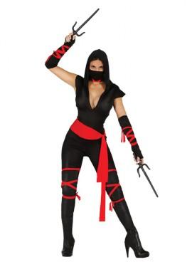 Disfraz de Black Ninja para Mujer