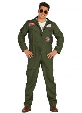 Déguisement de Pilote de Chasse de l'Armée pour homme