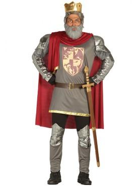 Disfraz de Rey Ricardo Corazón de León para Hombre