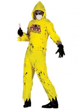 Disfraz para Halloween de Radioactive Zombie para hombre