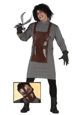 Disfraz de killer Scientist para hombre en Halloween