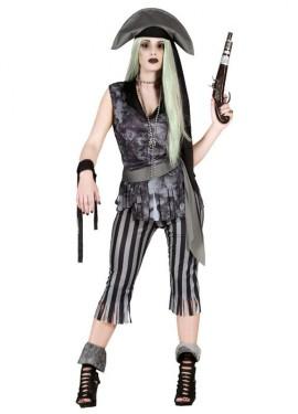 Disfraz de Mujer Pirata Fantasma para mujer