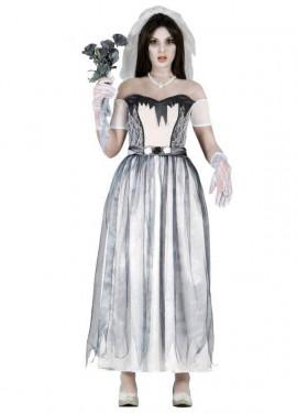 Disfraz de Novia Fantasma para mujer