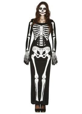 Disfraz para mujer de Lady Skeleton para Halloween