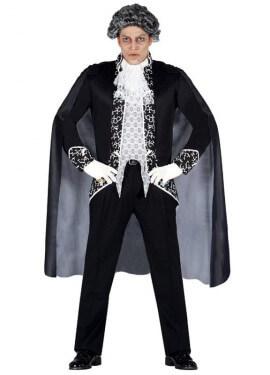 Disfraz para hombre de Vampiro Royal para Halloween