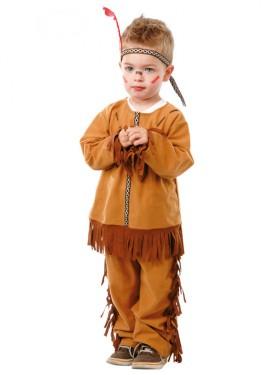 Disfraz de Indio Baby para niños
