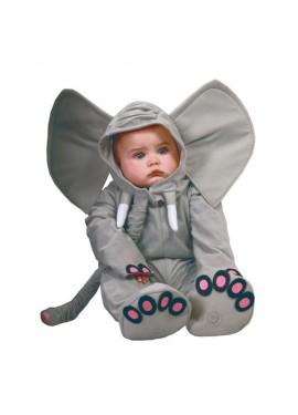 Disfraz de Elefante Baby para bebés