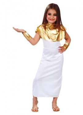 Déguisement Déesse Grecque pour enfants plusieurs tailles