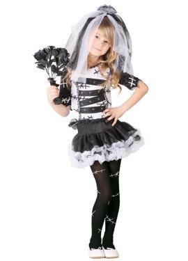 Disfraz de Monster Bride para niñas