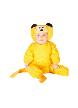 Disfraz de Gato Baby naranja para bebés