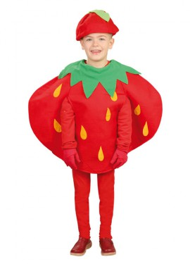 Disfraz de Fresa para niños
