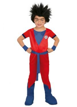 Déguisement de Guerrier Goku pour enfants plusieurs tailles
