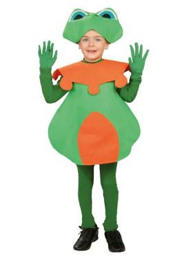 Déguisement Grenouille Verte pour enfants plusieurs tailles