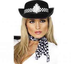 Sombrero de Policía con Insignia