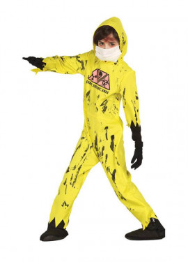 Disfraz de Zombie Nuclear para niños