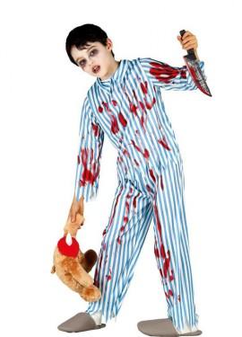 Déguisement de Petit garçon Possédé plusieurs tailles Halloween