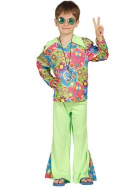 Déguisement Hippie Boy pour garçon plusieurs tailles
