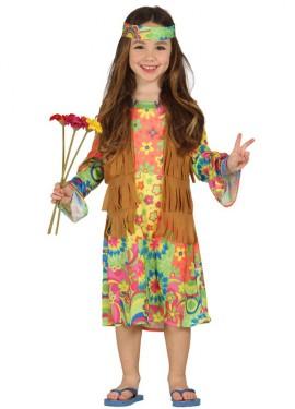 Disfraz de Hippie Girl para Niñas
