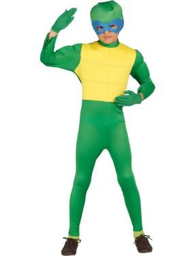 Disfraz de Ninja Verde para niños