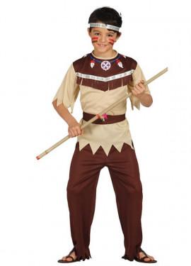 Disfraz de Indio Cherokee para Niños