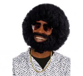 Peluca y barba con bigote de Rufus