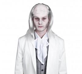 Peluca de Zombie blanco para Halloween