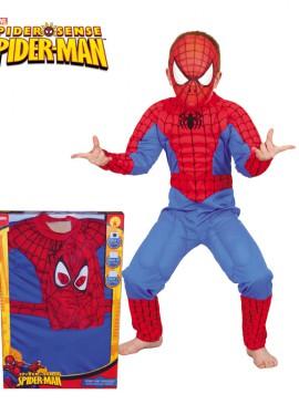 Disfraz de Spiderman musculoso de niño de 5 a 7 años