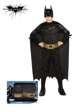 Disfraz de Batman TDK Rises c/accesorios para niño