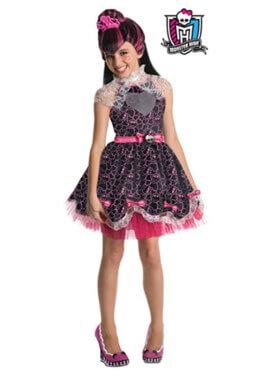 Disfraz Draculaura Sweet Monster High para Niña 3 a 4 años