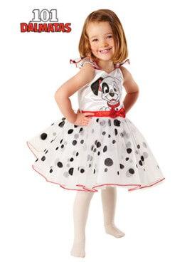 Costume della Carica dei 101 Ballerina per bambina