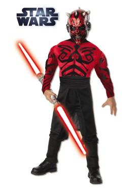 Disfraz de Darth Maul Musculoso de Star Wars
