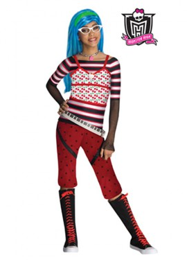 Disfraz de Ghoulia Yelps MONSTER HIGH 3 a 4 años