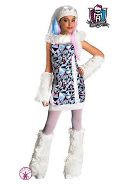 Disfraz de Abbey Bominable MONSTER HIGH 3 a 4 años