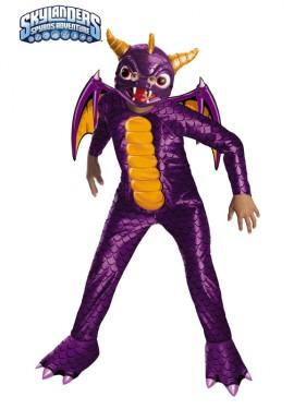 Disfraz de Dragón Spyro de para niños
